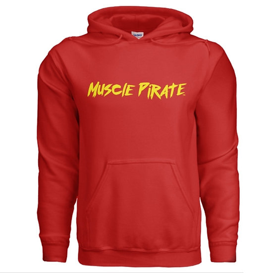 "MP's ""BLACK FLAG"" Hoodie - Red & Yellow"