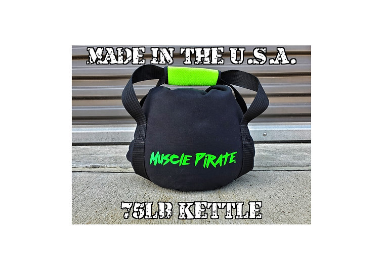 75lb KETTLEBELL by Muscle Pirate