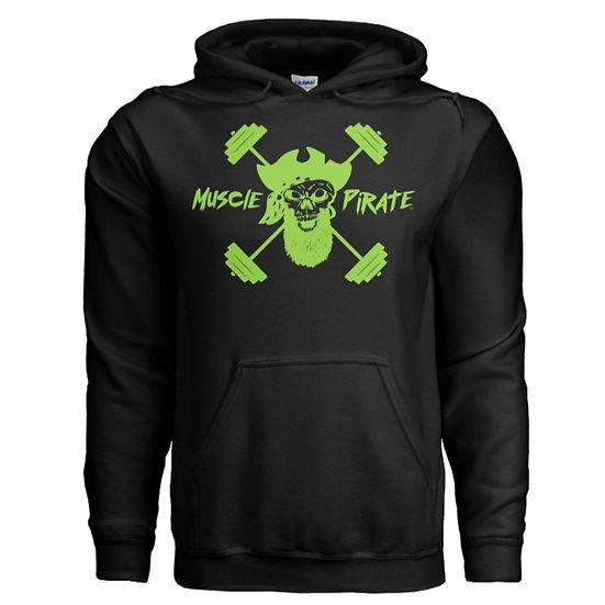 "MP's ""BLACK GOLD"" Hoodie - Black & Green"