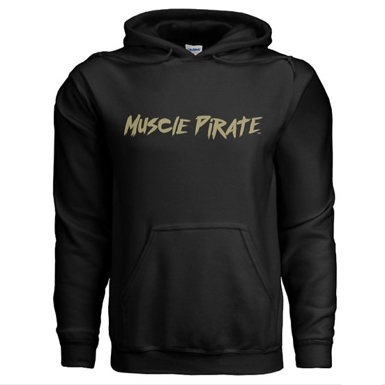 "MP's ""BLACK FLAG"" Hoodie - Black & Gold"