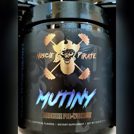1 Tub of MUTINY Pre-Workout