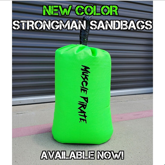 GREEN HD Strongman Sandbag by Muscle Pirate