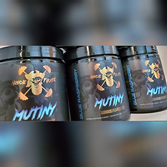 3 Tubs of MUTINY Pre-Workout