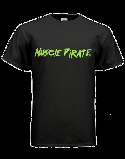 """MP's """"BLACK FLAG"""" Shirt - Black & Green"""