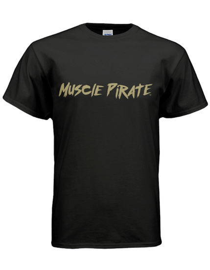 "MP's ""BLACK FLAG"" Shirt - Black & Gold"