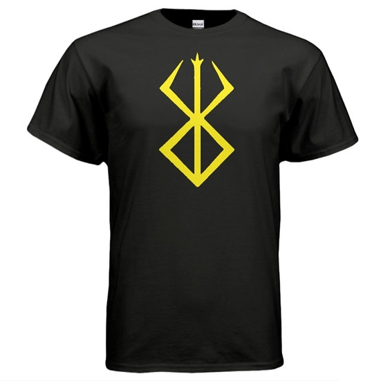 """BERESERKER"" Tee - Black & Yellow"