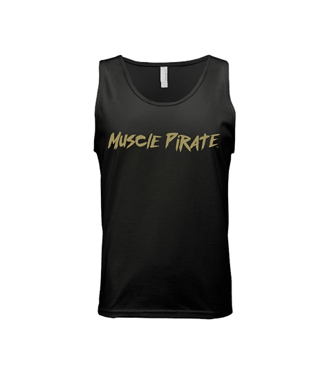"MP's ""BLACK FLAG"" Tank - Black & Gold"