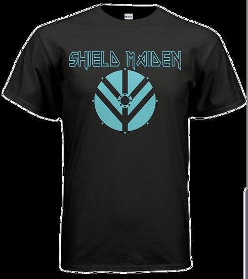 SHIELD MAIDEN Shirt - Black & Blue