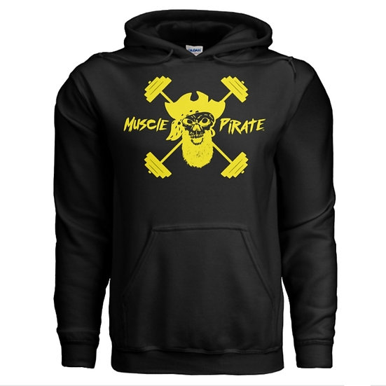 "MP's ""BLACK GOLD"" Hoodie - Black & Yellow"