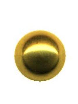 Guldbelagt indvendigt gevind kugle