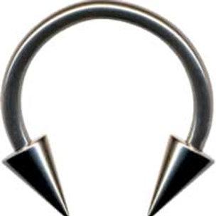 Circular Barbell Kirugisk stål 1,6 med cones