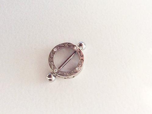 Sterling sølv bryst smykke