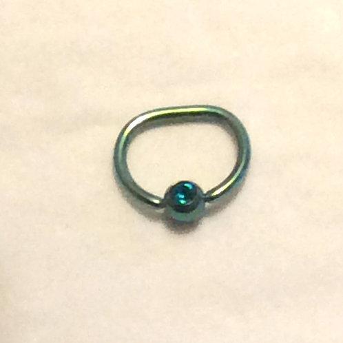 D ring, Titanium