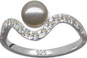 Flot finger ring i 925 sterling sølv