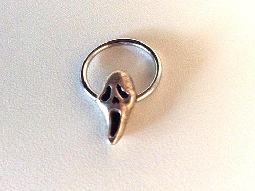 BCR ring med sterling sølv kugle