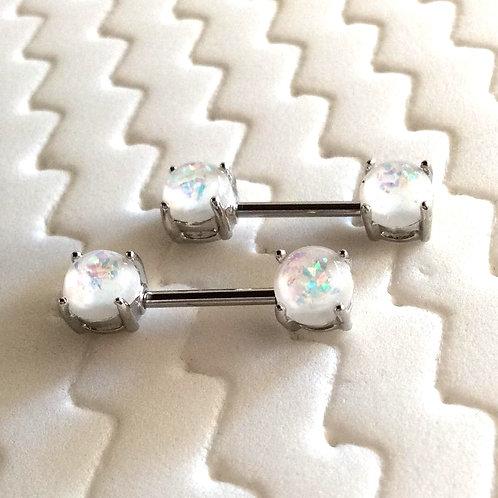 Stk, Bryst smykke med  Opal lite ender