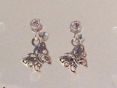 Helix smykke kirugisk stål/sterling sølv