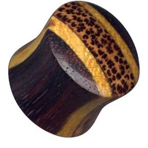 Plug, Palm/Jackfruit/coconut træ,  ca. 14,5 mm.