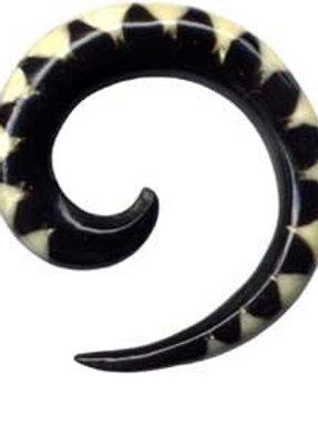 Hanger/ Spiral horn 6,5 mm.