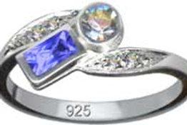Flot finger ring i sterling sølv