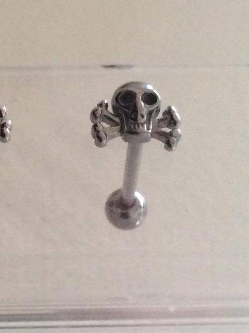 Skull barbell