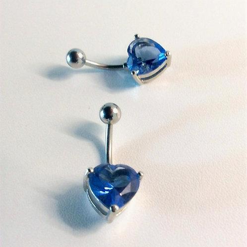 Flot blåt hjerte