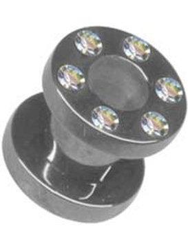 Kirugisk stål Tunnel krystal 4 og 6 mm.