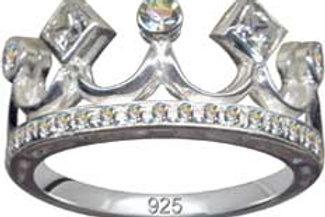 Flot ring i 925 sterling sølv