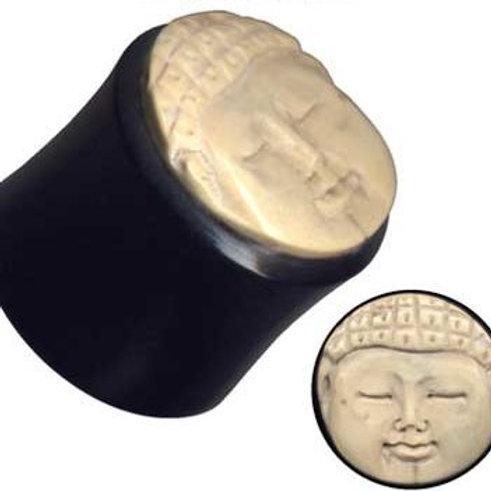 Plug, Horn og Coco-shell, 10 mm.
