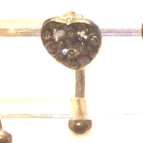 Øjenbryns smykke , Kirugisk stål 1,2
