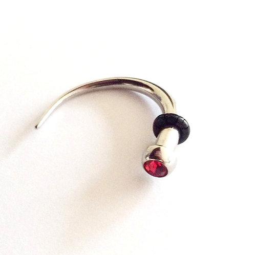 Spiral/Hanger, Kirugisk stål  4 mm. uden o ring