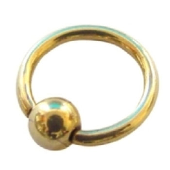 Zirkon titanium BCR ring, 1,6 mm trådtykkelse