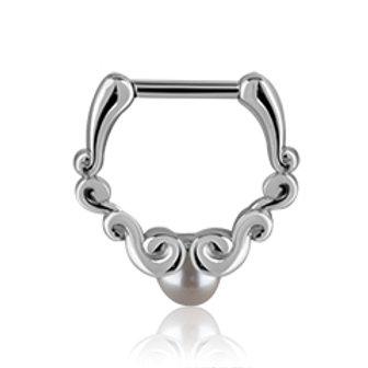 Septum smykke 1,6 trådtykkelse, 8 mm. dia.