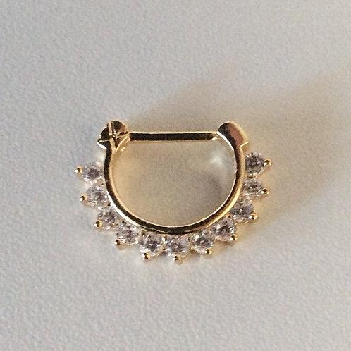 Septum/Daith smykke, 1.2 mm. Trådtykkelse
