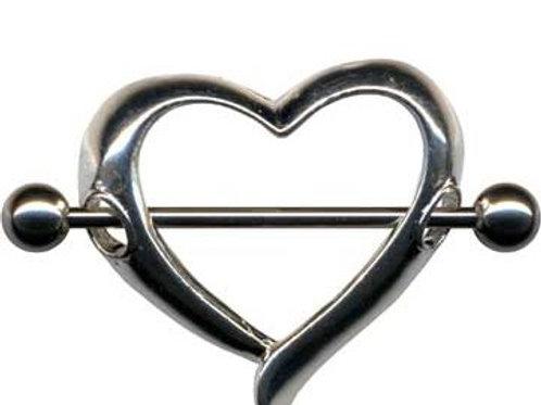 Bryst smykke Hjerte