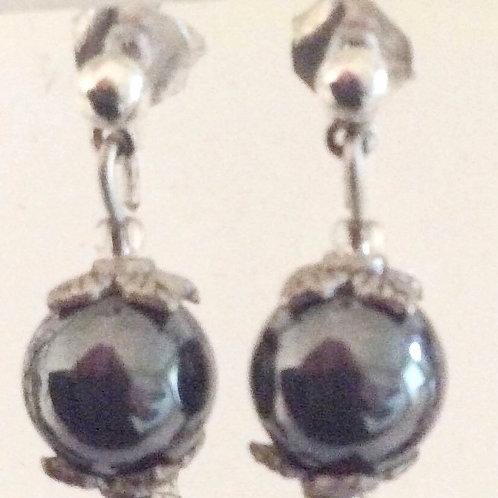 ØreSticks med Blodstens perler