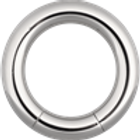 Segment ringe 2,5  3 og 5 mm. Kirugisk stål