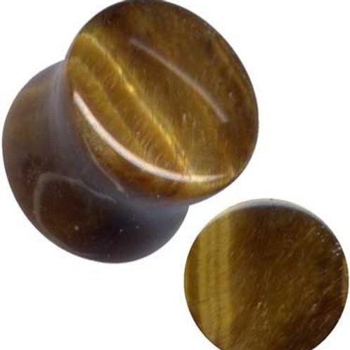 Plug, Tigerøje, ca.13 mm.