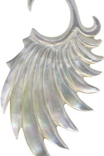 Hanger af Abelone ca. 2 mm.