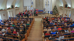 Christmas Service in Sanctuary