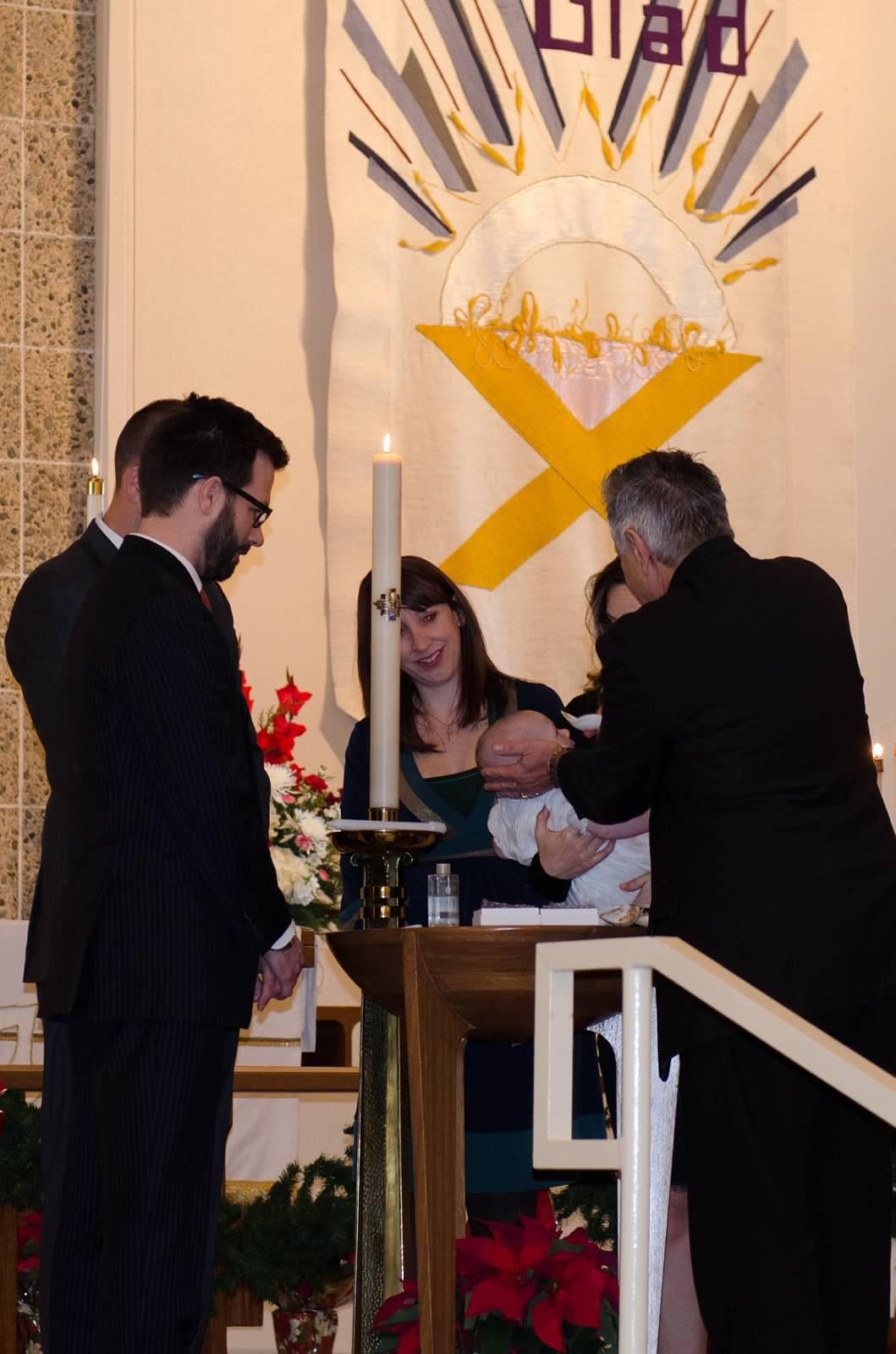 Bradley Sigler Baptism