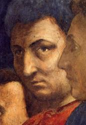 Auto-portrait of Masaccio