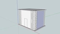 Boîte Mastaba, modélisation numérique