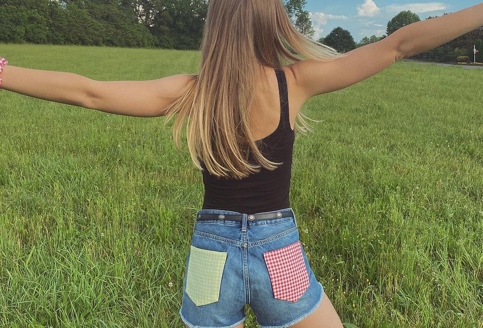 Watermelon Sugar Jean Shorts