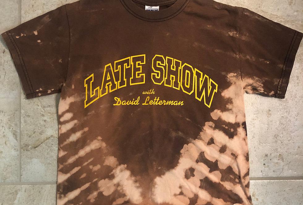 """""""Late Show"""" Custom Dyed Tee"""