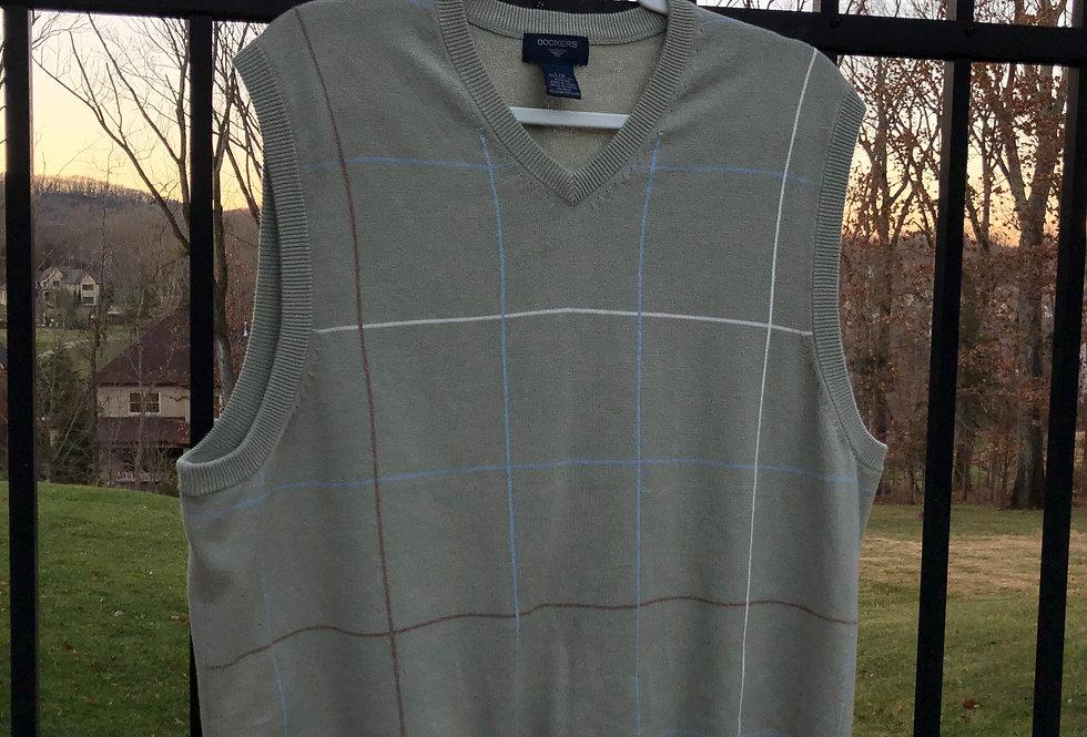 Horse Race Mint Knit Sweater Vest