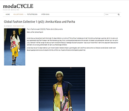 Pariha by Parinitha MN Paris Fashion Week Global Fashion Collective