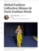 Pariha by Parinita MN Forbes Global Fashion Collective Paris Fashion Week