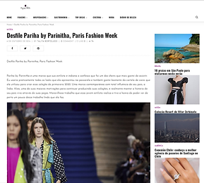 Pariha by Parinitha MN Paris Fashion Week Global Fasion Collective