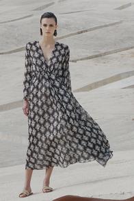 designermode lente en zomer 2021 Antonelli lange jurk